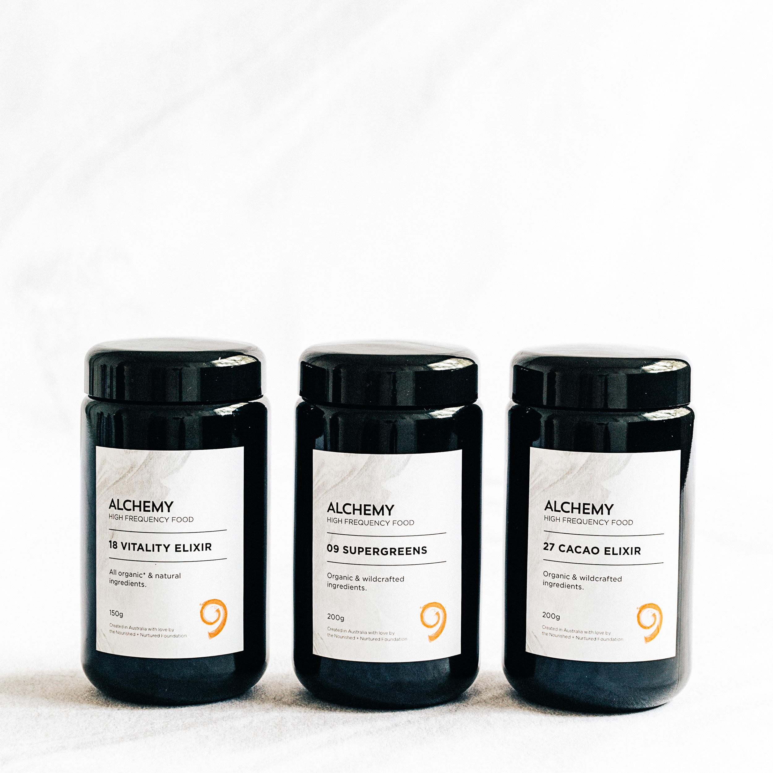 Nourished + Nurtured Elixir